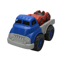 Load image into Gallery viewer, Green Toys - Flatbed Truck with Race Car