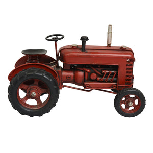 Tin Red Tractor
