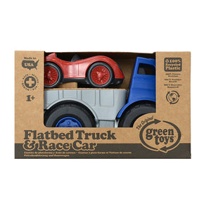 Green Toys - Flatbed Truck with Race Car