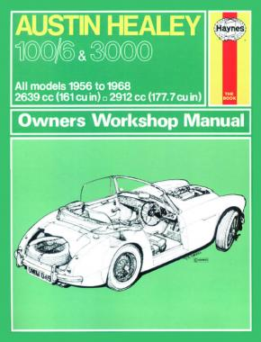 Haynes Manuals - Austin Healey Classic Re-Print (56 - 68)