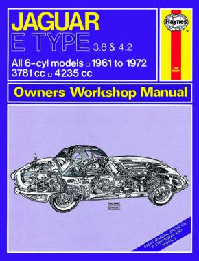 Jaguar E-Type Manual Classic Re-Print (62 - 73)