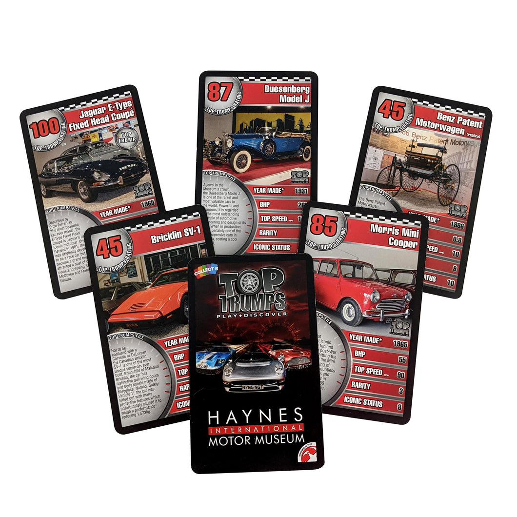 Haynes Top Trumps Game