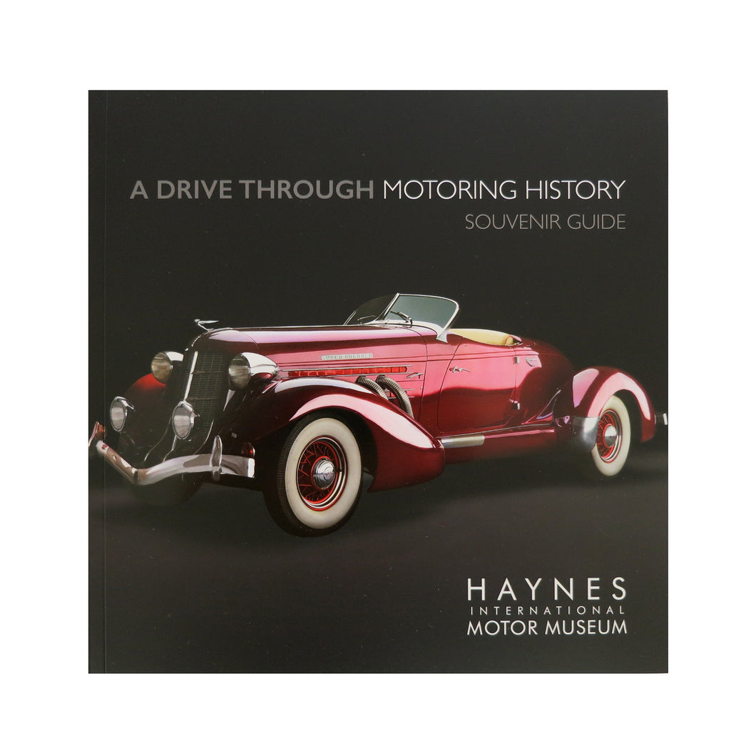 A Drive Through Motoring History Souvenir Guide