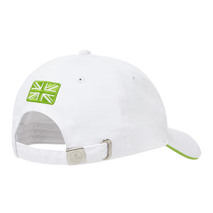 Lotus Baseball Cap White