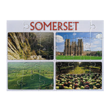 Load image into Gallery viewer, Somerset - Jigsaw Postcard
