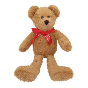 Haynes - Scraggy Bear With Red Bow