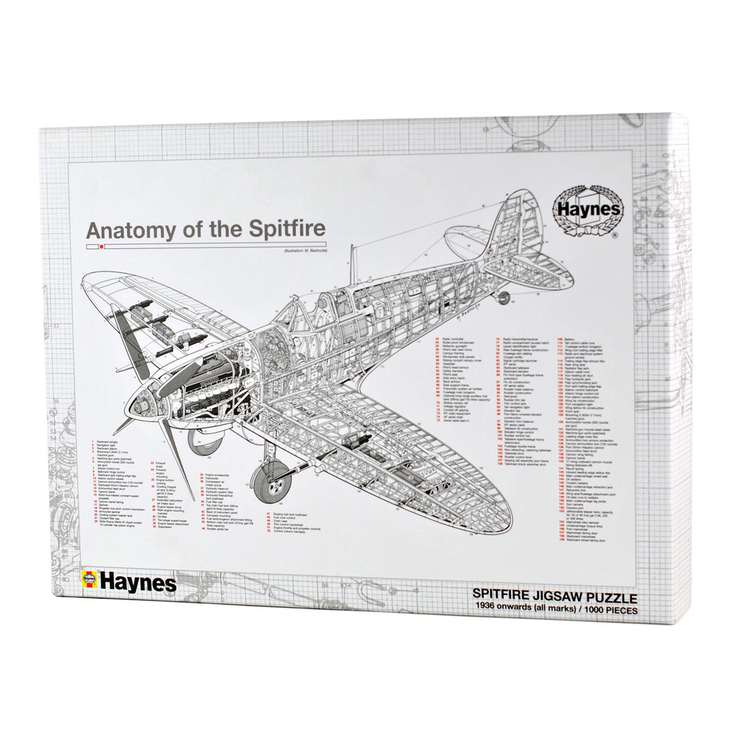 Jigsaw Puzzle - Spitfire (1000 pieces)