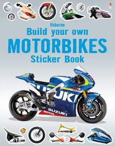 Build Your Own Motorbikes Sticker Book