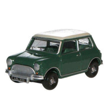 Load image into Gallery viewer, 1:76 Scale Austin Mini Almond Green/Old English White