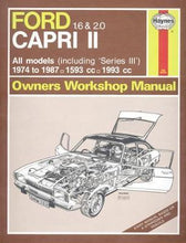 Load image into Gallery viewer, Ford Capri ll 1.6 & 2.0 (74 - 87)