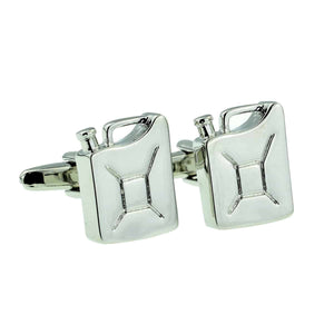 Jerry Can Fuel Cufflinks