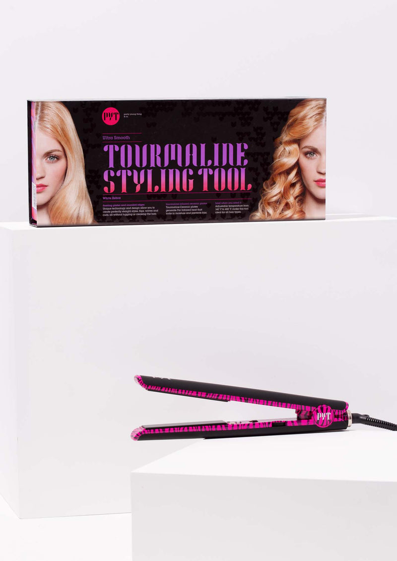 In and Out Tourmaline Styling Tool<p>Pink Zebra