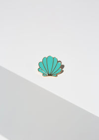 Sea Shell Lapel Pin