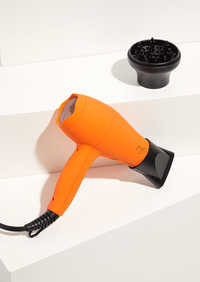 Mini Turbo On-the-Go Dryer <p> Orange