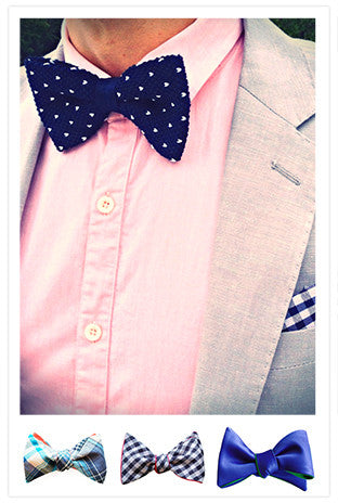 Blue Bow Ties