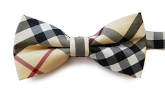 Burberry-esc bow tie by Knot Theory