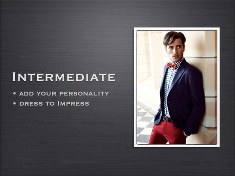 Bow tie style guide part 2 - intermediate
