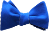 Houndstooth Blues bow tie for men