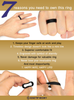 Bevel Silicone Wedding Rings for Men and Women in 5mm, 6mm, 8mm Bandwidths ★ Award-winning Designer