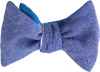 Weekend at the Cabin Plaid bow tie for men