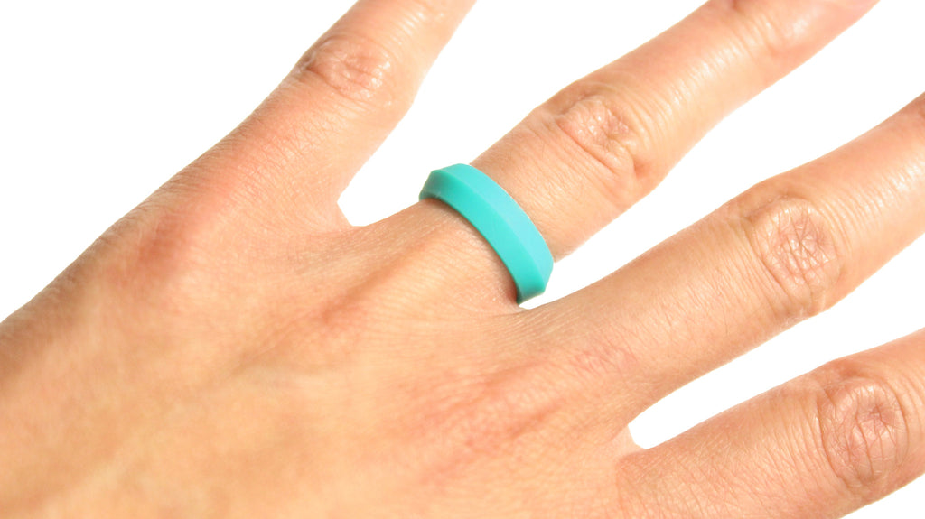 Classy Safe Silicone Wedding Rings for Men and Women Knot Theory
