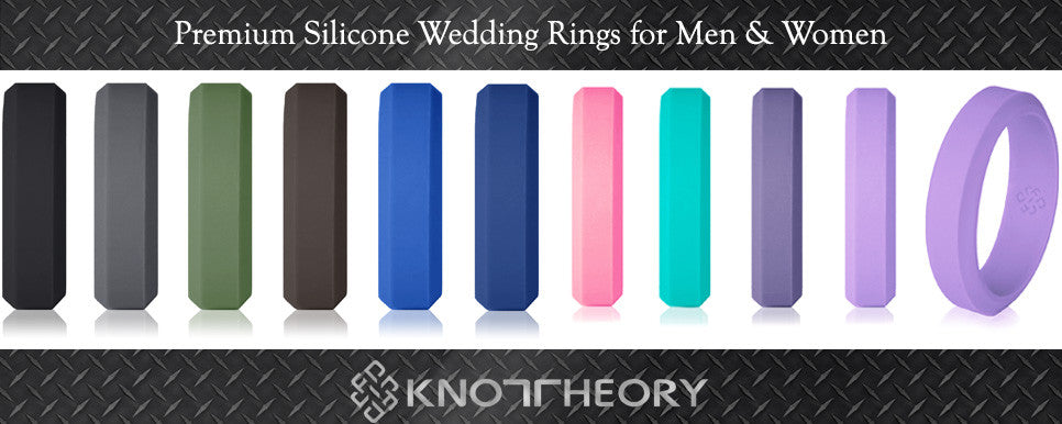 Silicone Wedding Ring for men and women