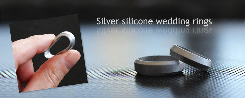 Silicon Wedding Band for men and women