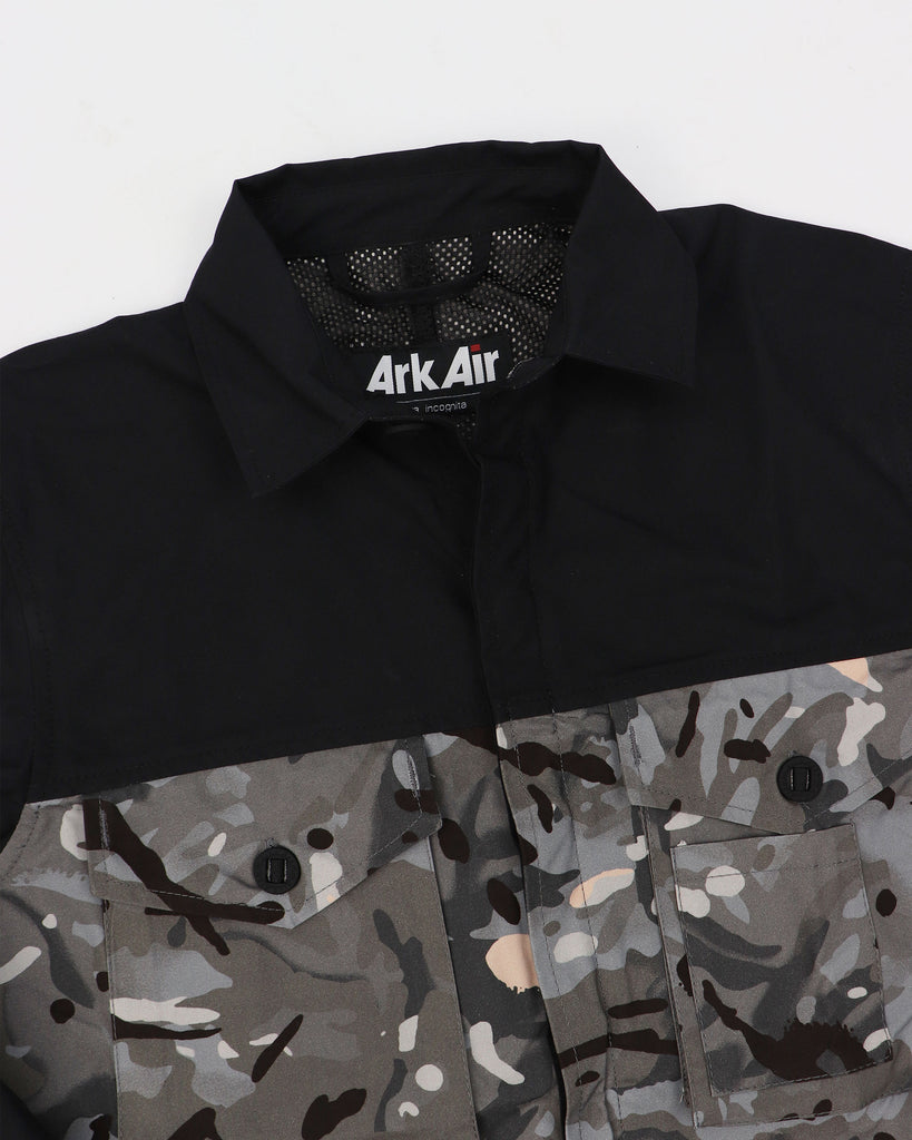 A125AA - Overshirt - Black Vista