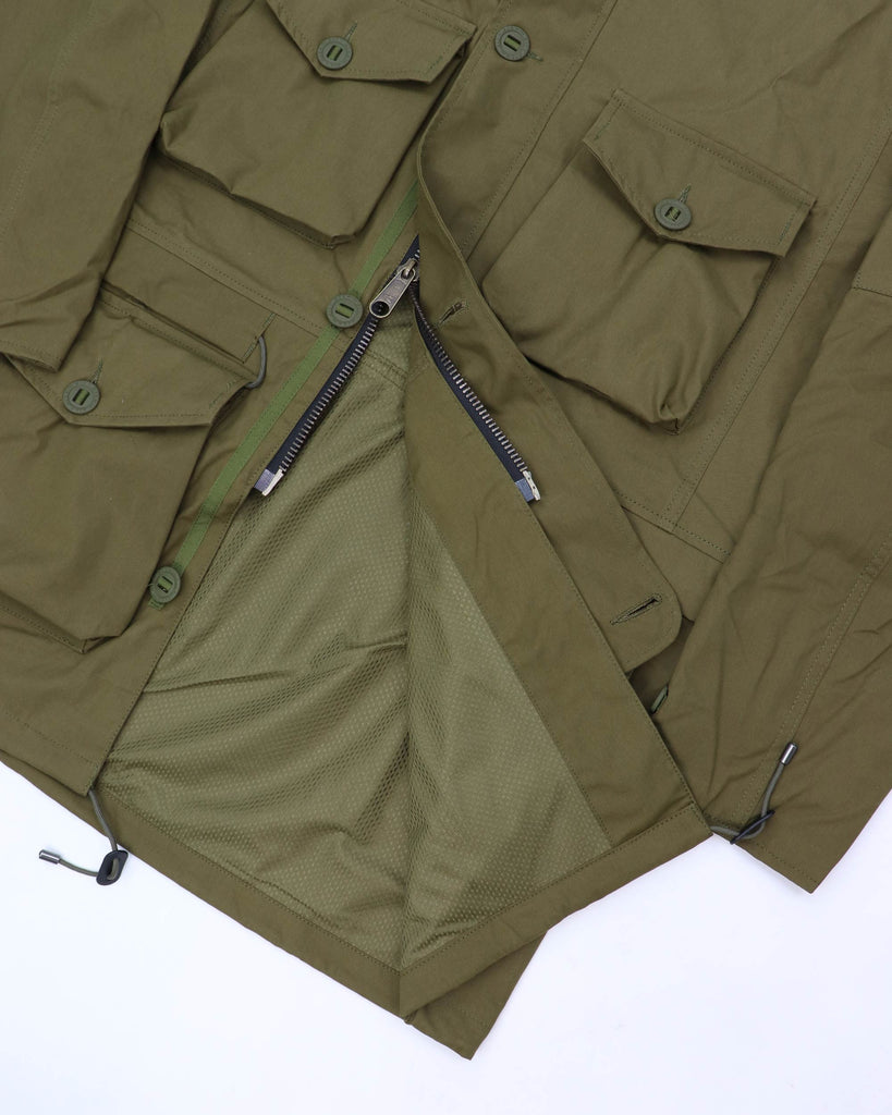 B243AA - Waterproof Smock - Tropical Green