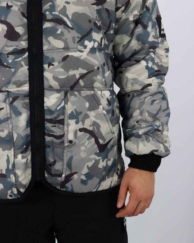 B500AA - Reversible Quilted Jacket - Vista Urban/ Navy