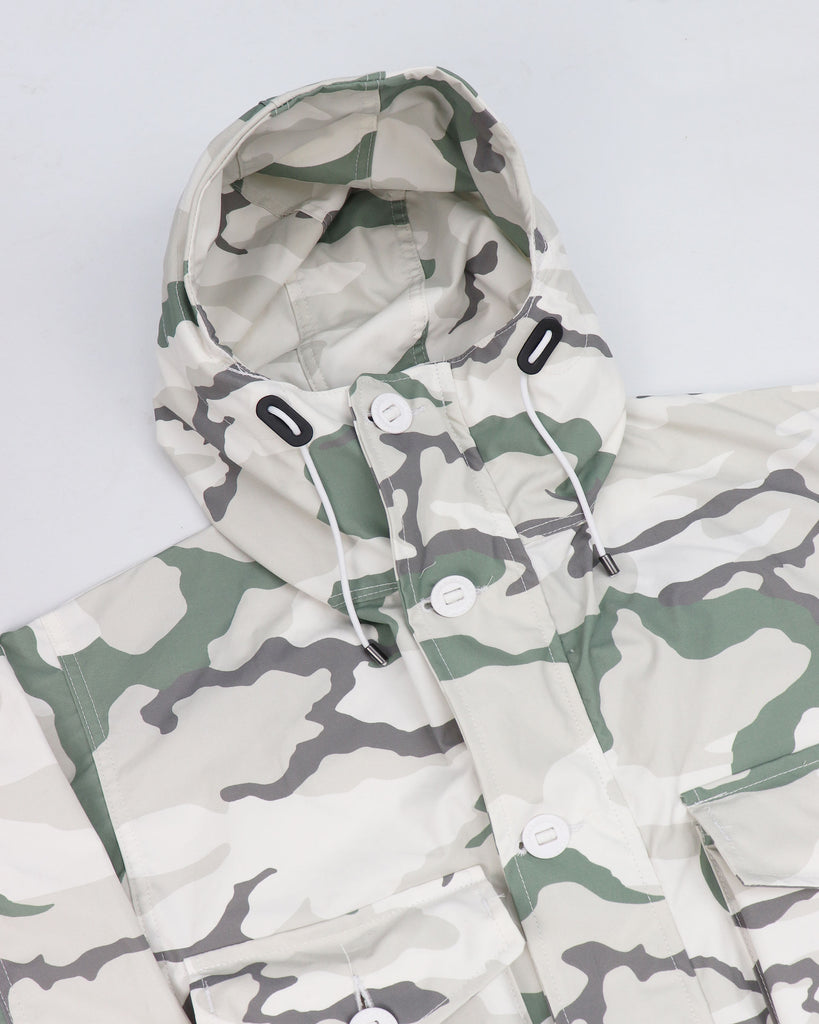 B244AA - Unlined Smock - Tundra Laurel