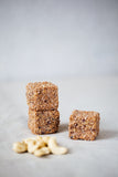 Cashew Crunch Power Cubes