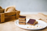 Raw Caramel Slices