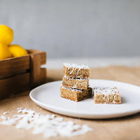 Raw Lemon Chia Slices