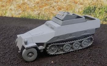SdKfz 251/21 D Drilling Halftrack