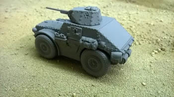 AS43 Autoblinda  Armoured Car