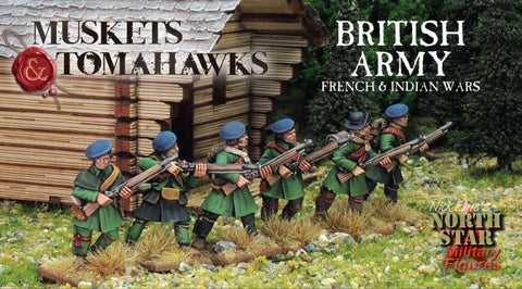 British Army, French and Indian Wars, Muskets and Tomahawks