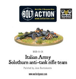 Italian Army Solothurn Anti Tank Rifle Team