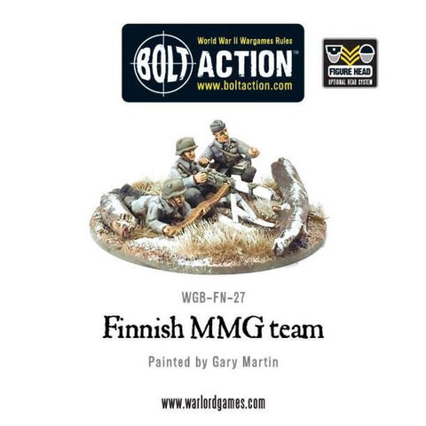 Finnish Medium Machine Gun Team