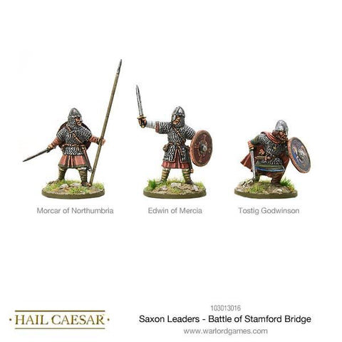 Saxon Leaders, Battle Of Stamford Bridge