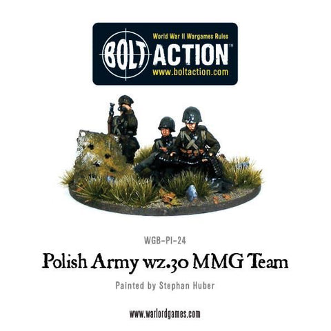 Polish Army wz.30 Medium Machine Gun Team