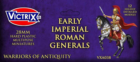 Early Imperial Roman Generals