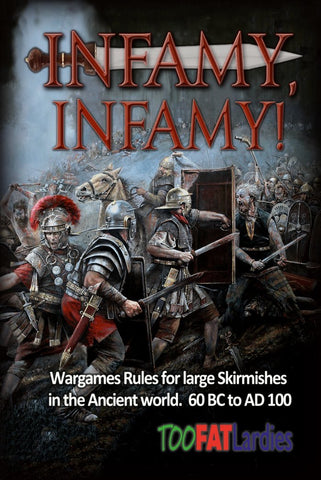 Infamy, Infamy, rulebook and cards