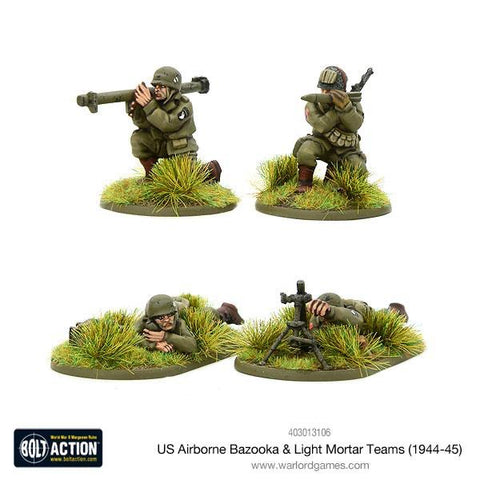 US Airborne Bazooka and Light Mortar Teams (1944-45)
