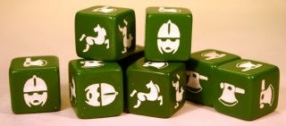 Anglo Saxon or Anglo Danish Saga dice