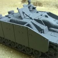 1/48 StuH 42 in Zimmerit