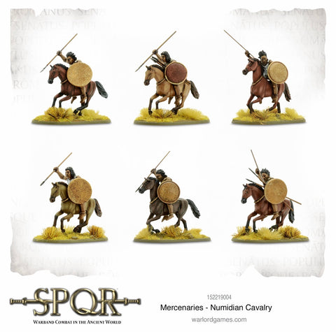 Mercenary Numidian Cavalry