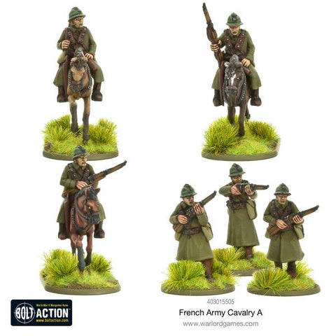 French Cavalry pack A