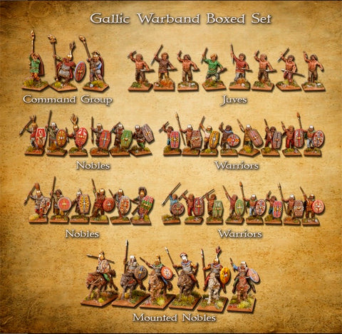Clash Of Spears Gallic Warband
