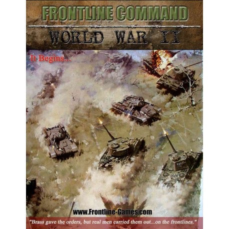 Frontline Command WWII Boxed Rule Set